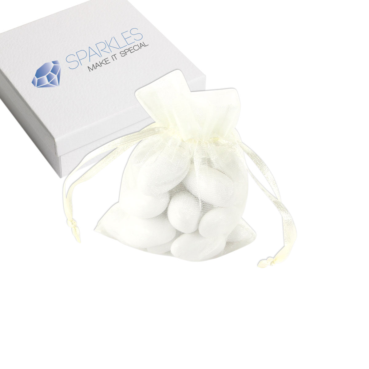 25 x 3quotx4quot organza wedding favor bags party decoration for Wedding favor gift bags