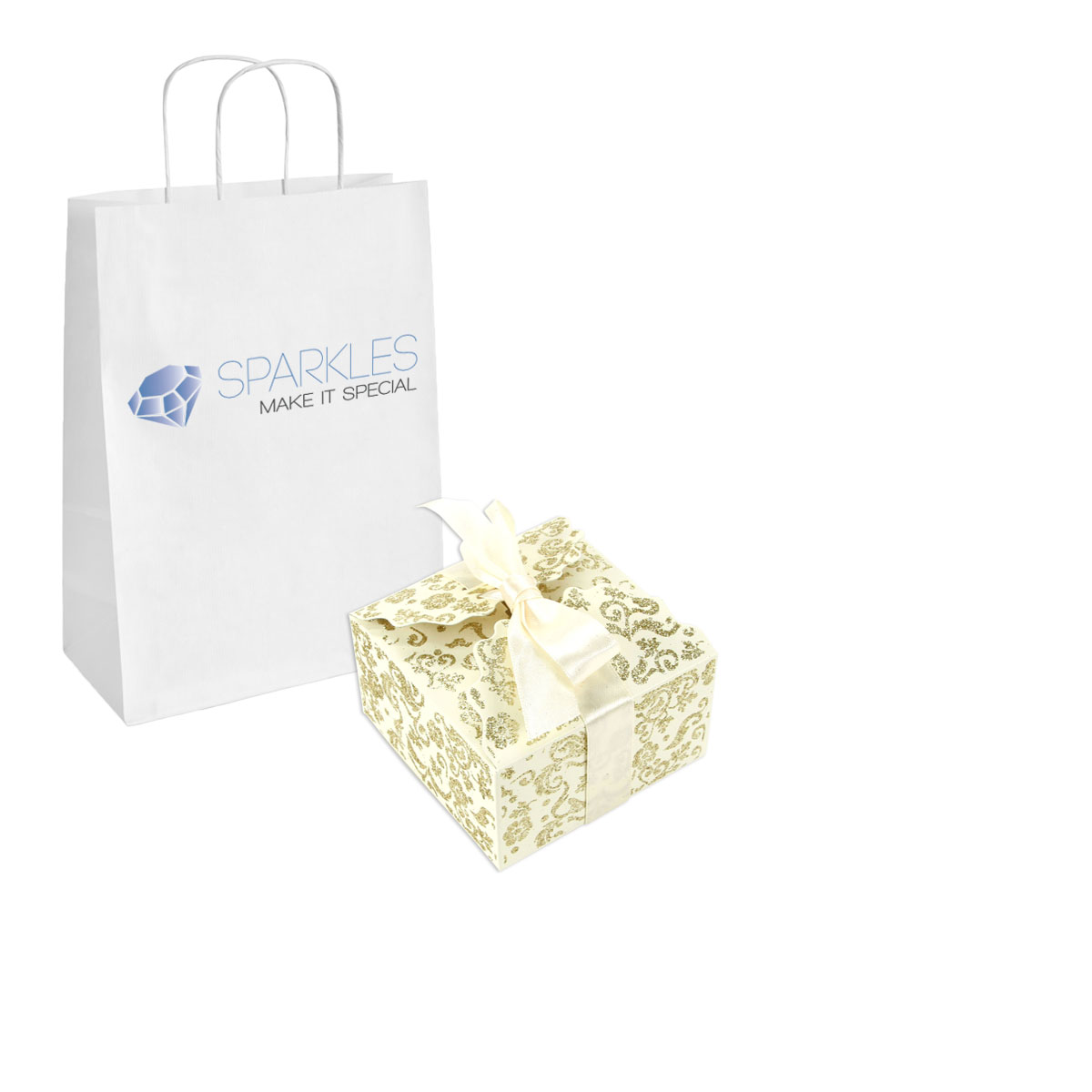 Wedding Gift Boxes Large : Details about 50 Large Ribbon Wedding Favor Gift Boxes Baby Shower ...