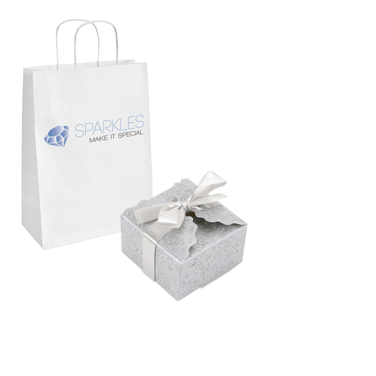 Details about 100 Large Ribbon Wedding Favor Gift Boxes Baby Shower ...