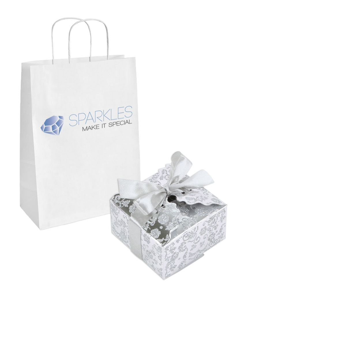 200 Large Ribbon Wedding Favor Gift Boxes Baby Shower Candy