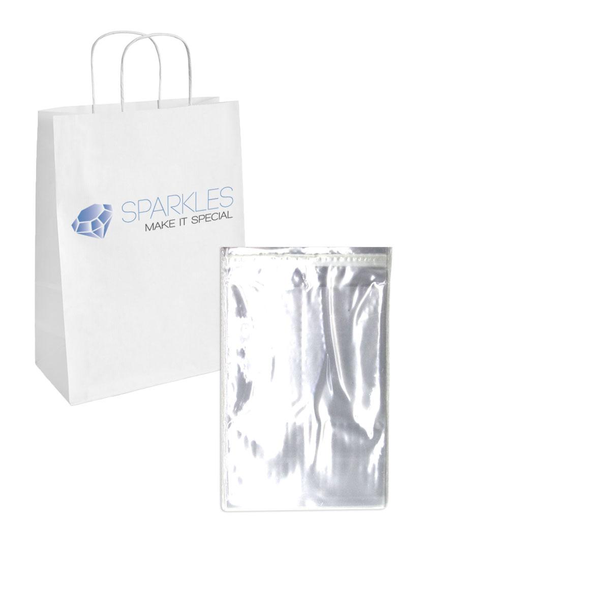 Wedding Favor Bags Plastic : ... 5x7