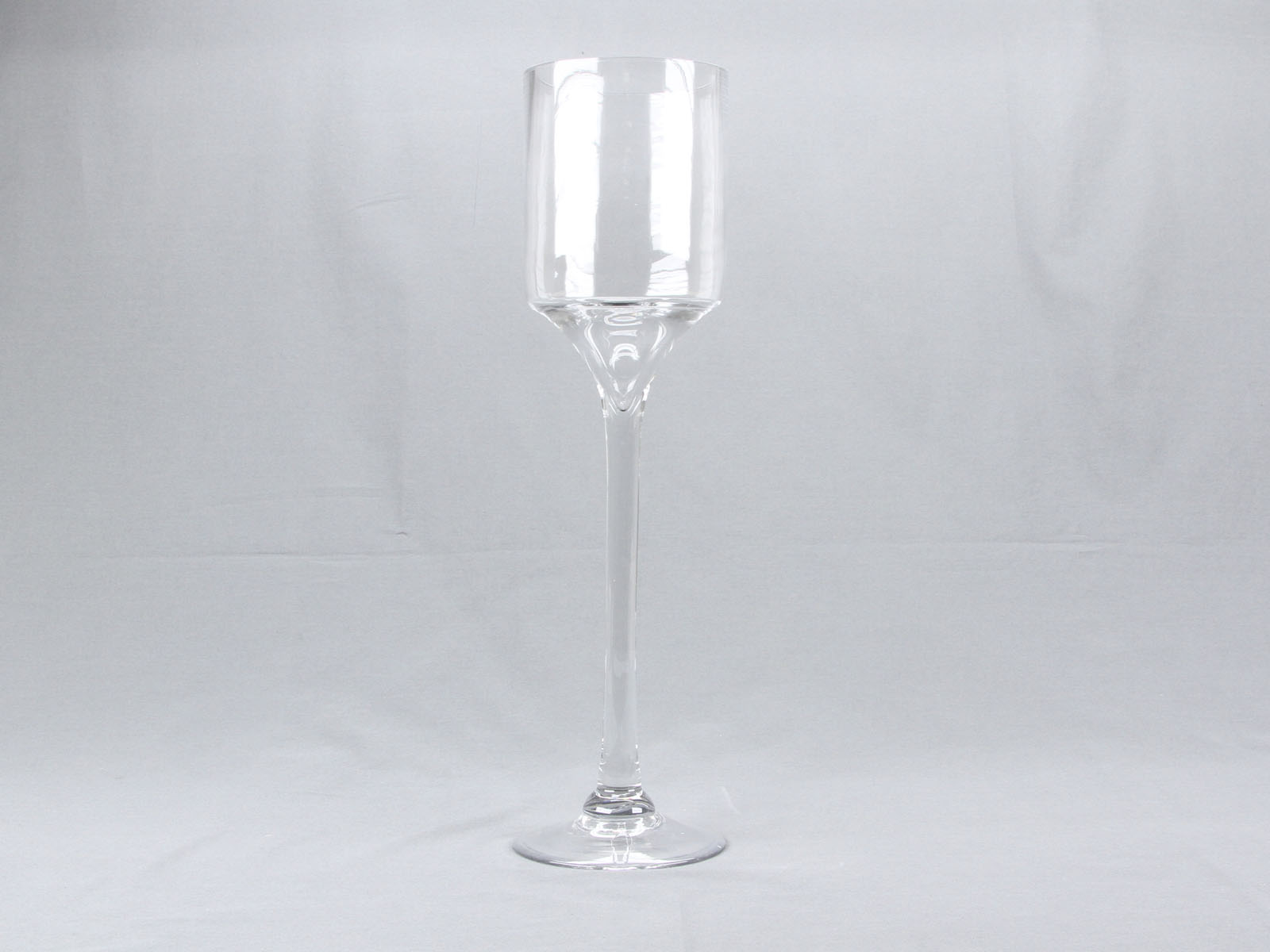 18 Quot Tall 4 Quot Opening Clear Wine Glass Cylinder Vase Flower Candle Display Decor Ebay