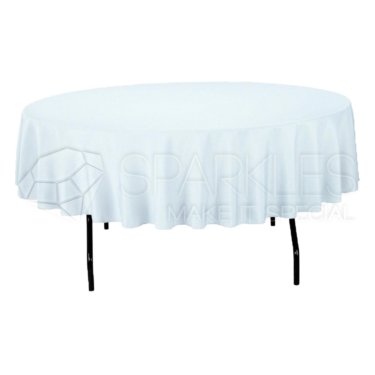 1 pc 90 round cloth fabric linen tablecloth white wedding restaurant hz ebay. Black Bedroom Furniture Sets. Home Design Ideas