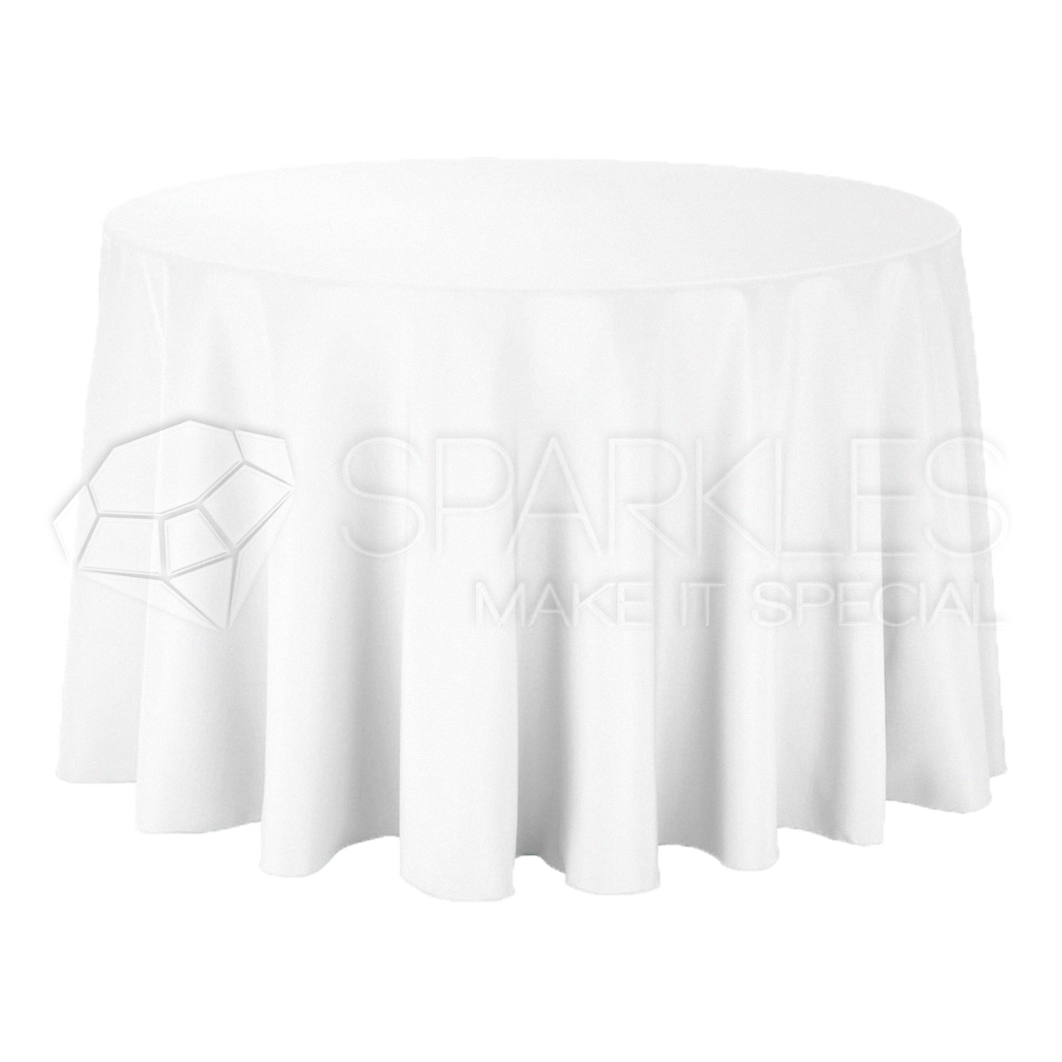 5 pc 108 round cloth fabric linen tablecloth white wedding restaurant in ebay. Black Bedroom Furniture Sets. Home Design Ideas