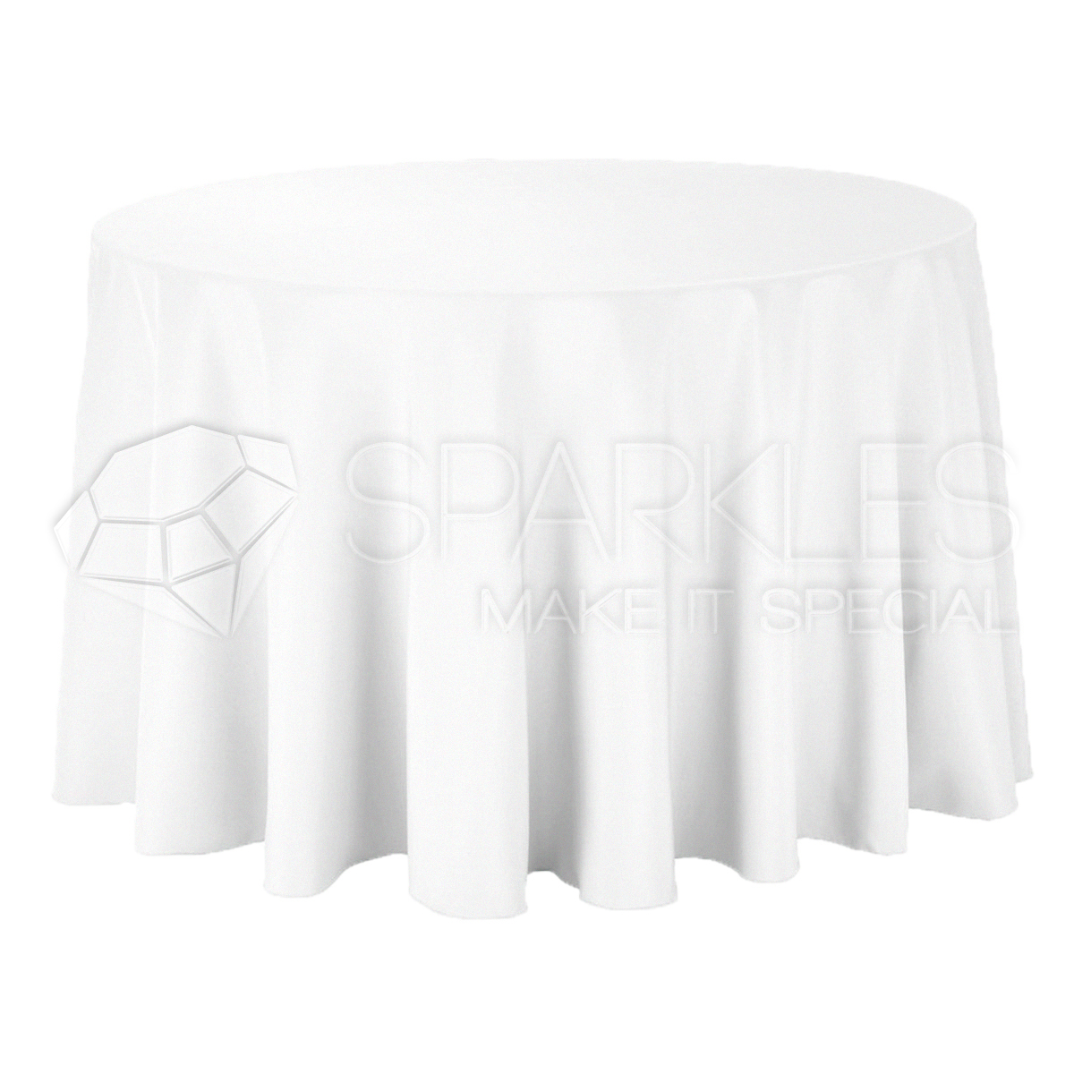 10 pc 120 round cloth fabric linen tablecloth white for 120 round white table linens