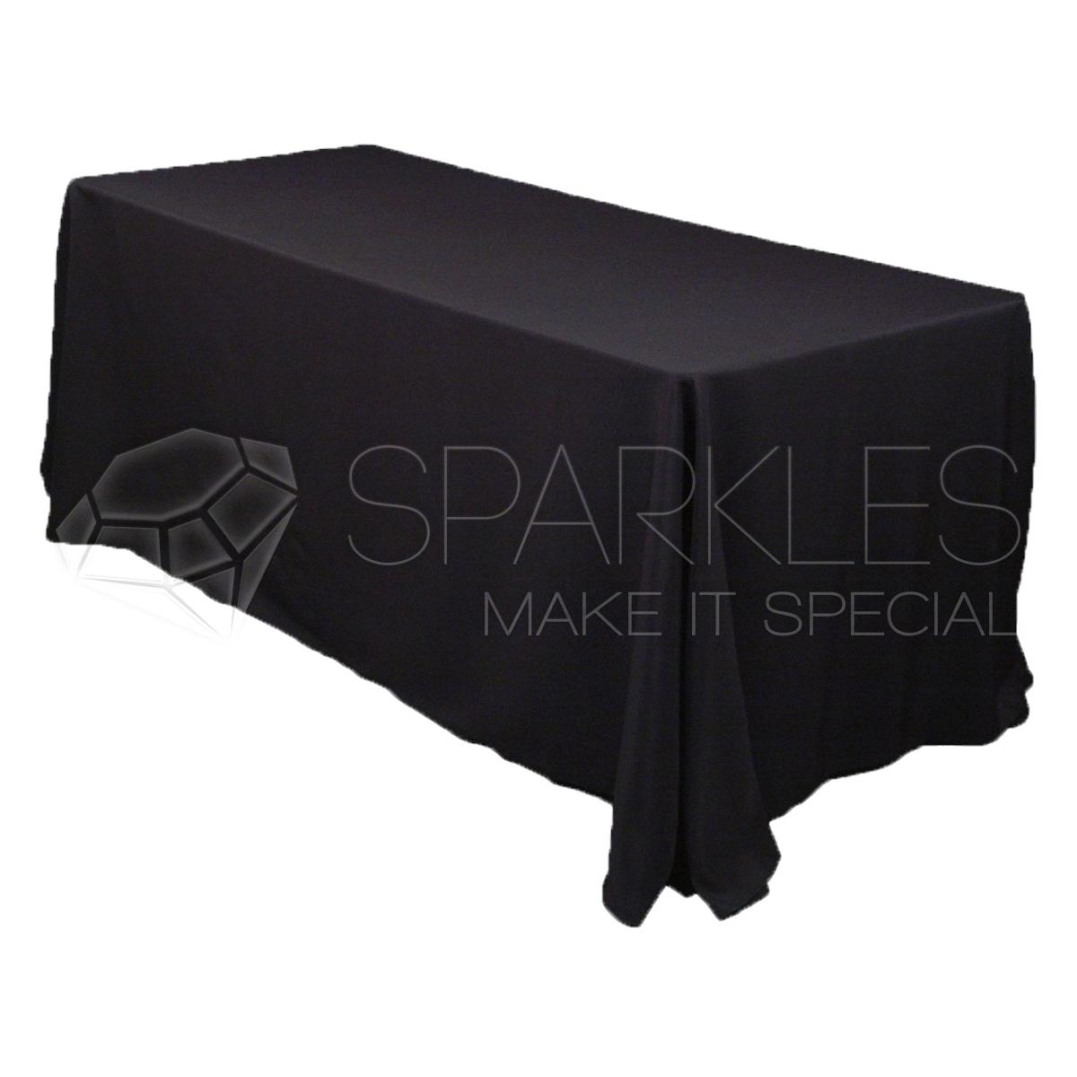 90-034-x132-034-Rectangular-Tablecloth-Fabric-Linen-Cloth-Dinner-Wedding-Banquet