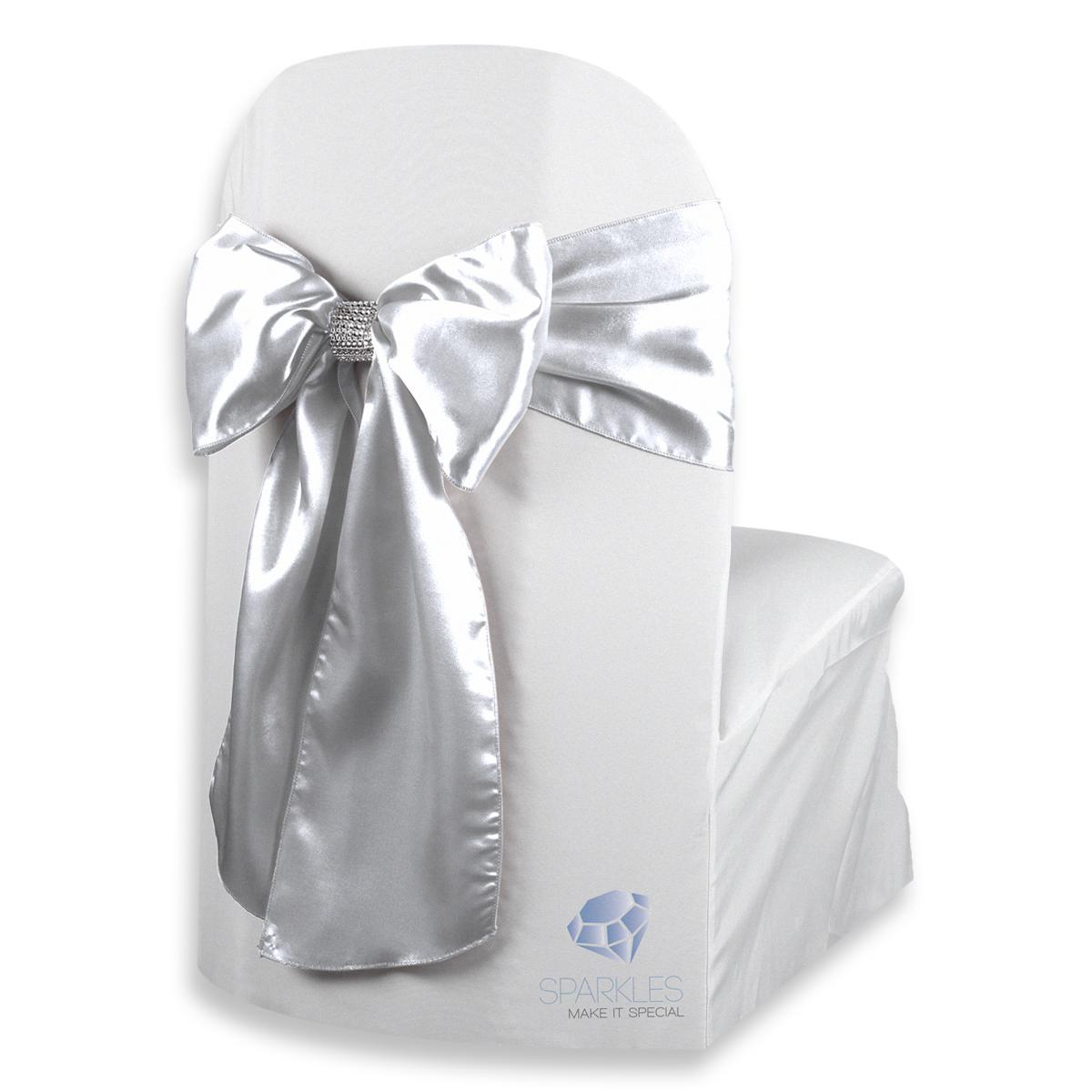 50-pcs-Satin-Chair-Cover-Bow-Sash-108-034-x8-034-Wedding-Party-Banquet-Reception